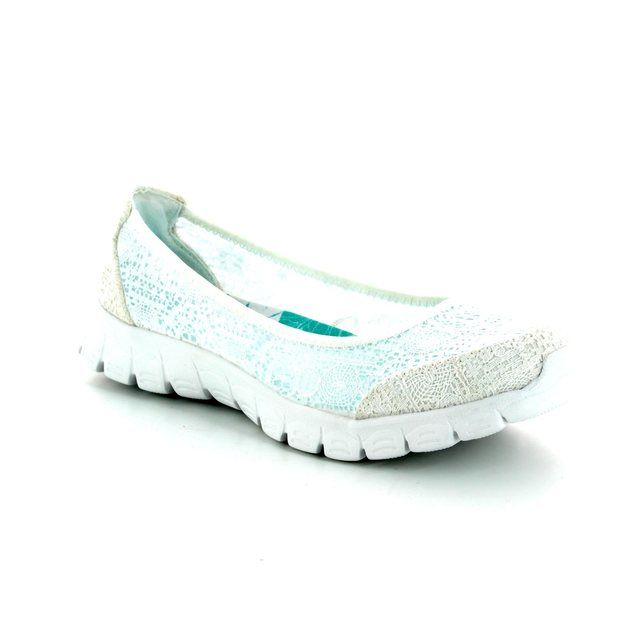 Skechers Pumps - White - 23437 EZ FLEX3 PUMP8