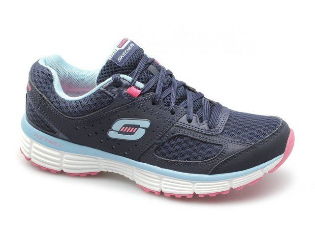 Skechers Fit Perfect 11903 NVTQ Navy-Turquoise trainers