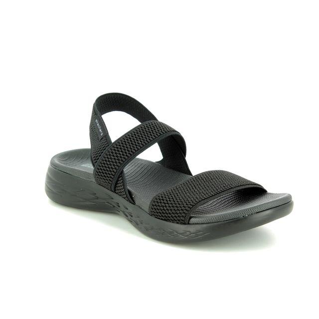 Skechers Comfortable Sandals - Black - 15312 FLAWLESS 600