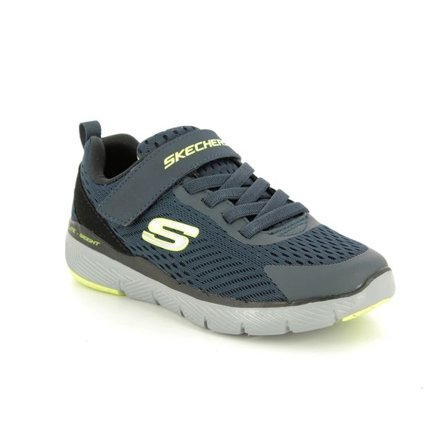 Skechers Trainers - Navy - 98143L FLEX ADV 3 JNR