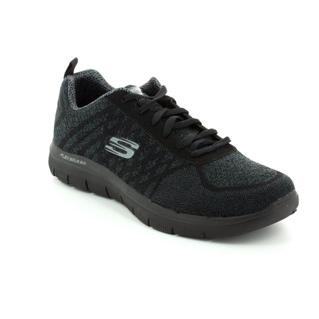 Skechers Trainers - Black - 52182 FLEX ADVANT 2