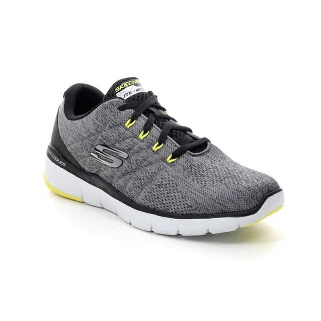 Skechers Trainers - Grey - 52957 FLEX ADVANTAGE 3