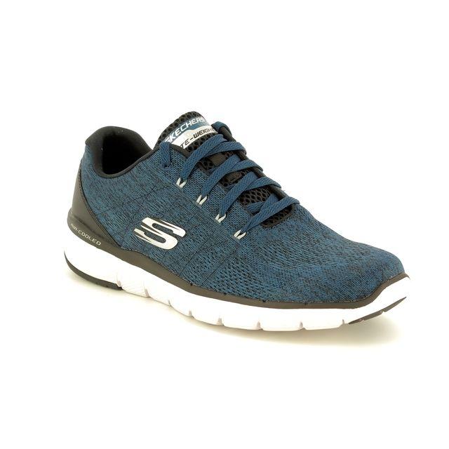 Skechers Trainers - Blue - black - 52957 FLEX ADVANTAGE