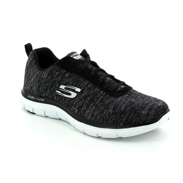 Skechers Trainers - Black-white - 12753/011 FLEX APPEAL 2.0