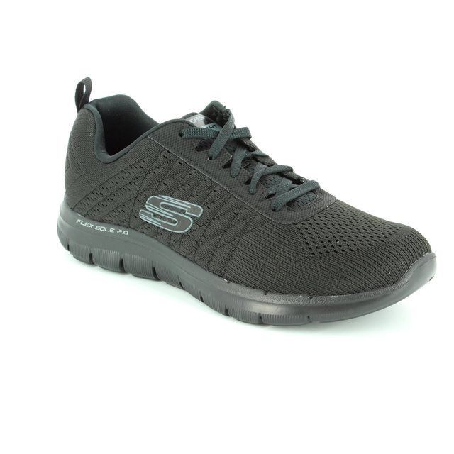 Skechers Trainers - Black - 12757 FLEX APPEAL 2