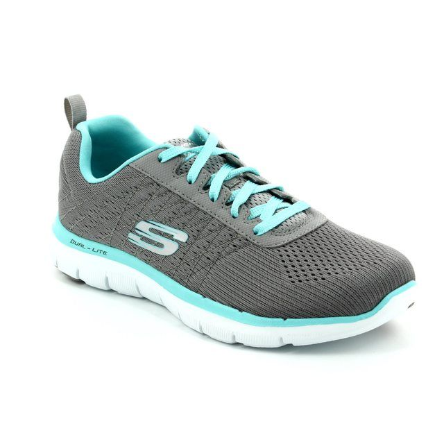 Skechers Trainers - Grey-light blue - 12757 FLEX APPEAL 2