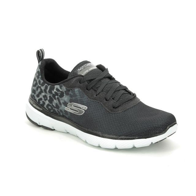 Skechers Trainers - Black-white - 13476 FLEX APPEAL 3.0