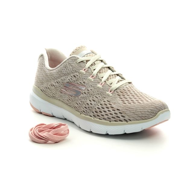 Skechers Trainers - Natural tan - 13064 FLEX APPEAL 3
