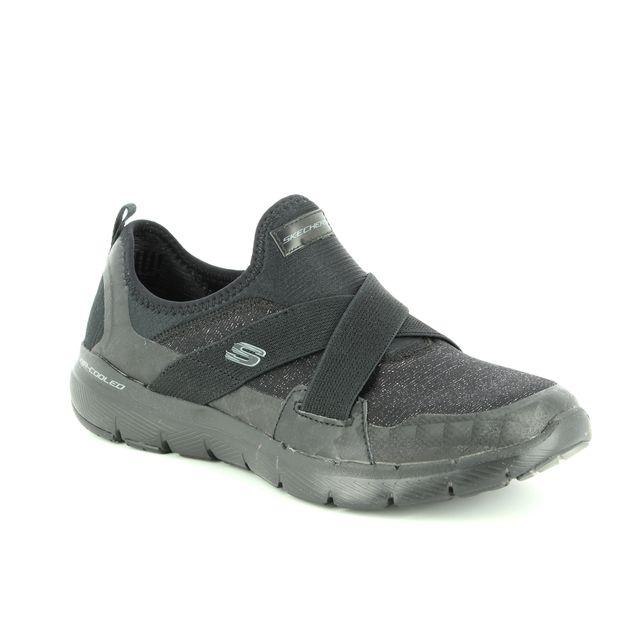 Skechers Trainers - Black - 13065 FLEX APPEAL X