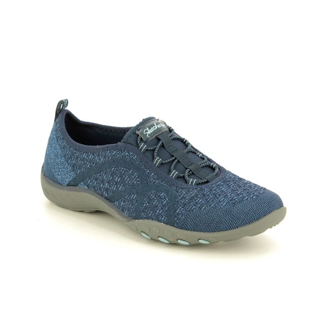 Skechers Trainers - Navy - 23028 FORTUNE KNIT