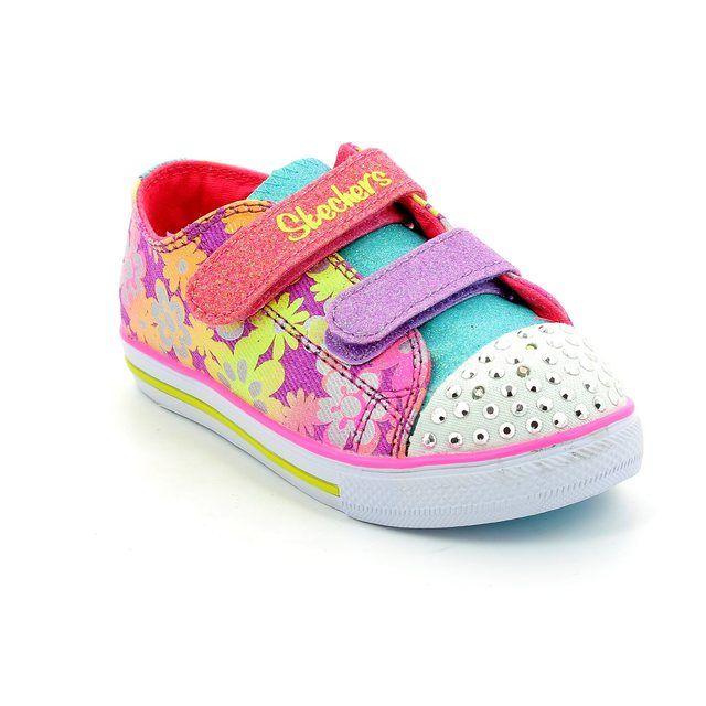 Skechers First Shoes - Purple - 10480/47 GLINT TWINKLE