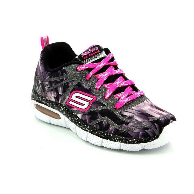 Skechers Everyday Shoes - Black multi - 81706/435 GLITZTASTIC