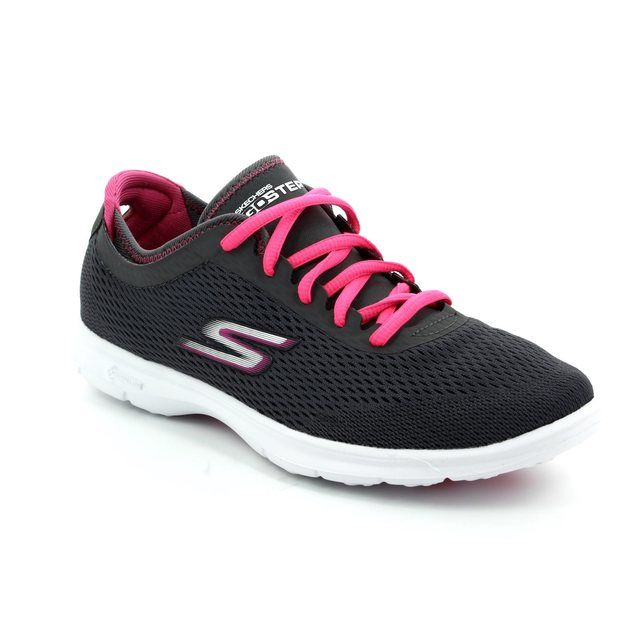 Skechers Trainers - Charcoal Multi - 14211 GO STEP SPORT