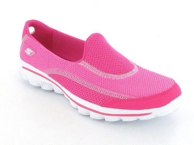 Skechers Go Walk 2 13590 HPK Hot Pink trainers