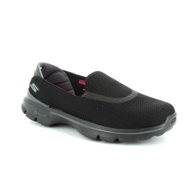 Skechers Go Walk 3 13980 BBK Black trainers