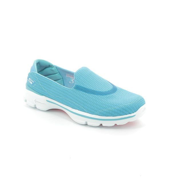 Skechers Trainers - Turquoise - 13980/77 GO WALK 3