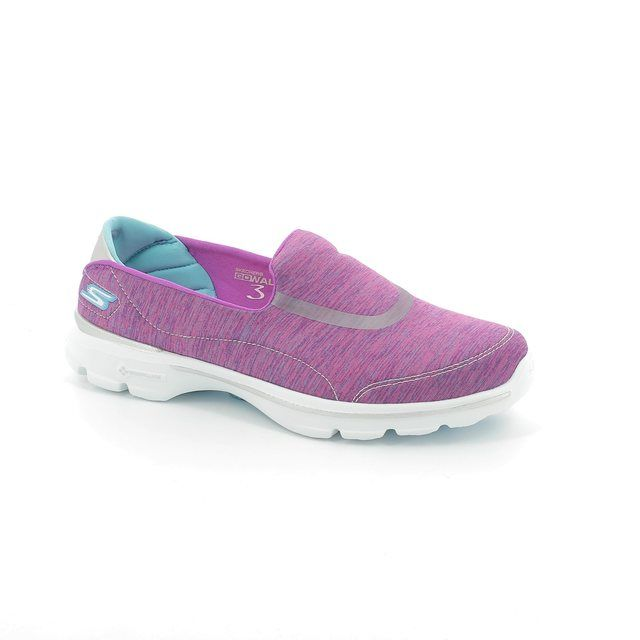 Skechers Trainers - Pink - 14038 GO WALK 3