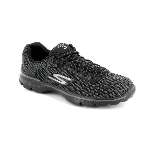 Skechers Trainers - Black - 13981 GO WALK 3 LACE