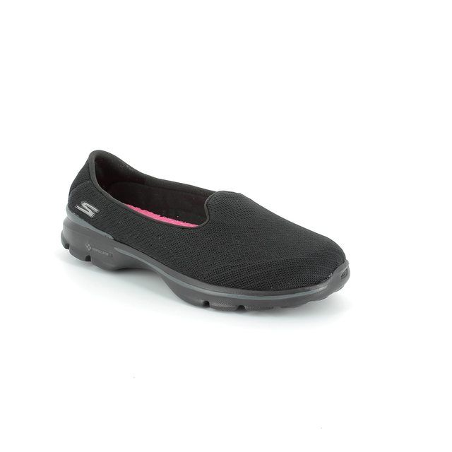 Skechers Trainers - Black - 13983/33 GO WALK 3 LOCU