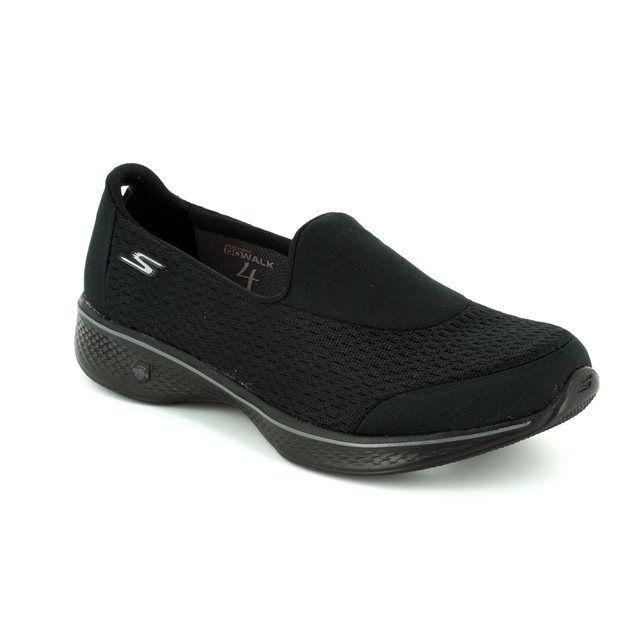 Skechers Trainers - Black - 14148 GO WALK 4