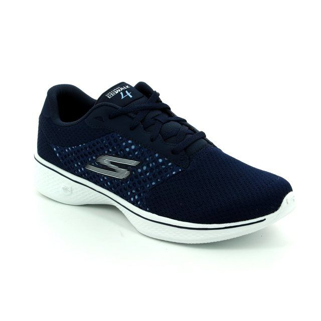 Skechers Trainers - Navy - 14146/424 GO WALK 4 EXCE