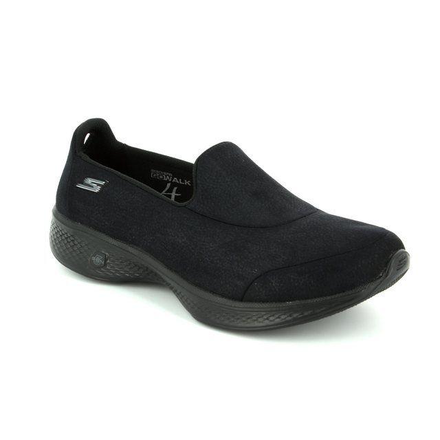 Skechers Trainers - Black - 14166 GO WALK 4 LEA