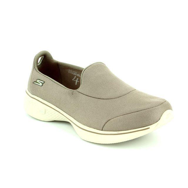 Skechers Trainers - Taupe - 14166 GO WALK 4 LEA