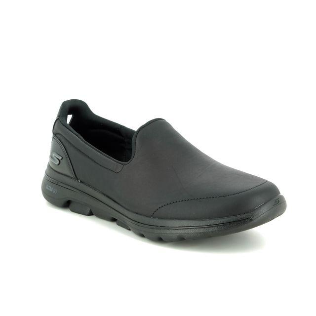 Skechers Trainers - Black - 15923 GO WALK 5 SLIP