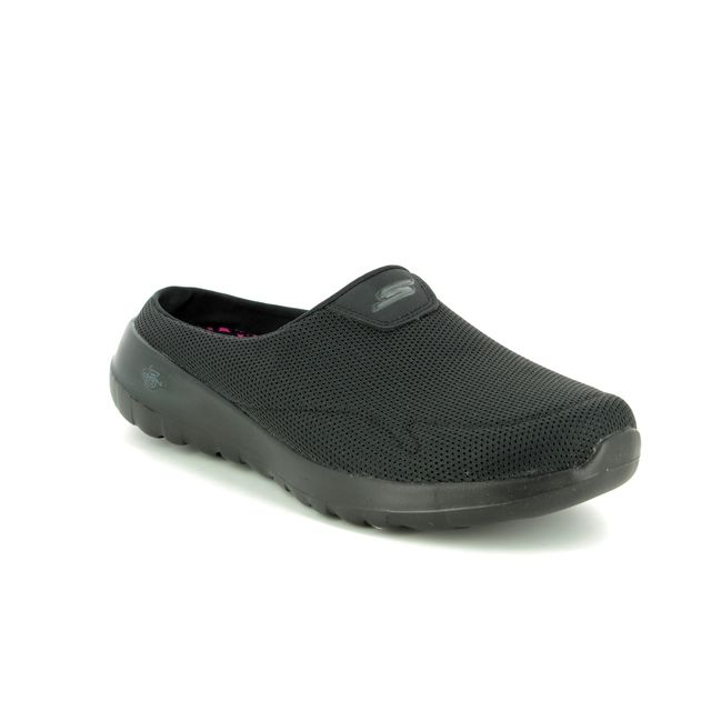 Skechers Slipper Mules - Black - 15636 GO WALK MULE