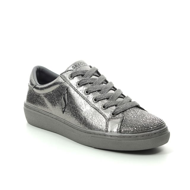 Skechers Trainers - Pewter - 73836 GOLDIE CHROME