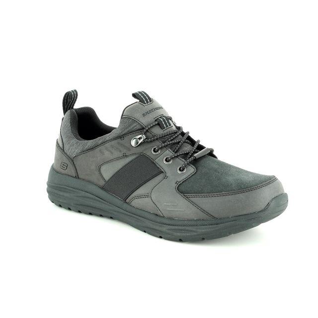 Skechers Harsen Arbor 65606 BLK Black casual shoes