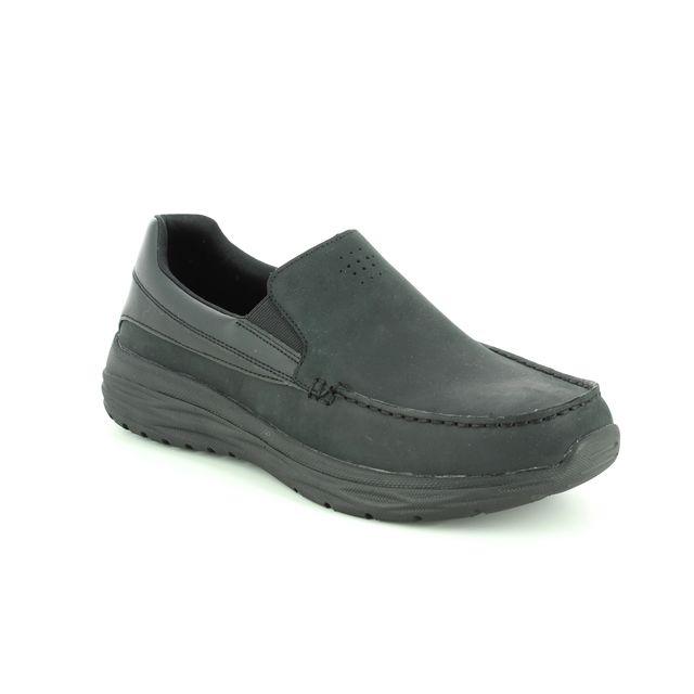 Skechers Casual Shoes - Black - 65620 HARSEN ORTEGO
