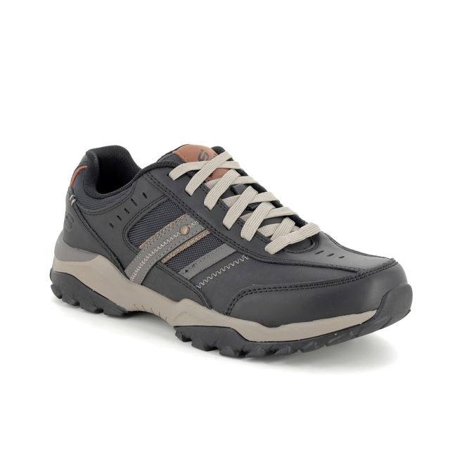 Skechers Casual Shoes - Black - 66015 HENRICK DELWOO