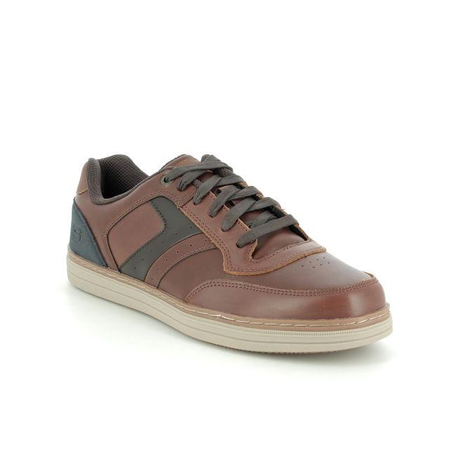 Skechers Casual Shoes - Dark brown - 66413 HESTON