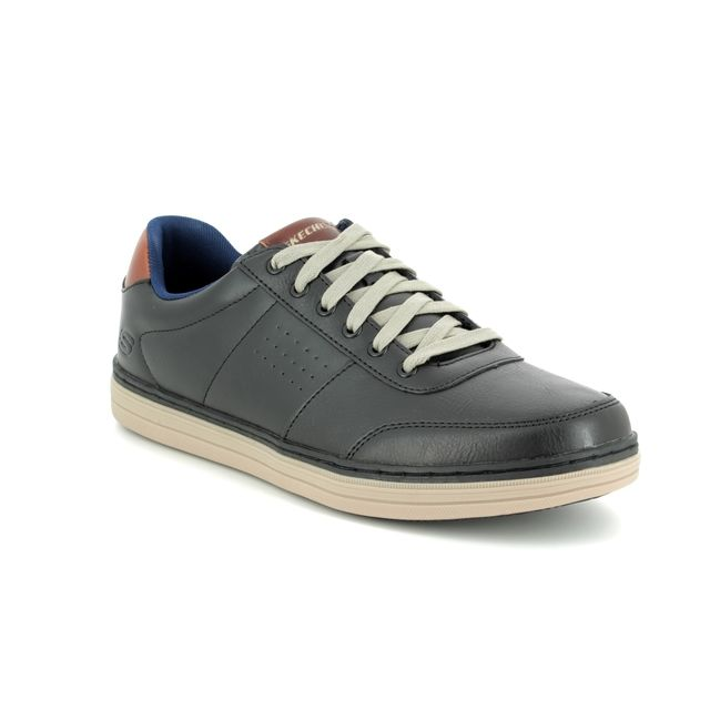 Skechers Casual Shoes - Black - 65876 HESTON AVANO