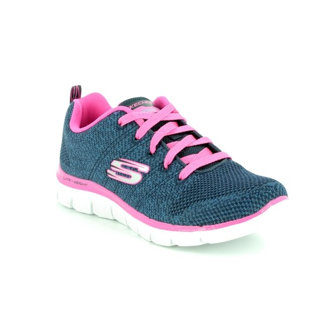 Skechers Everyday Shoes - Navy - 81655 HIGH ENERGY