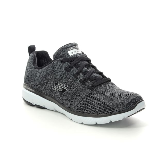Skechers Trainers - Black-white - 13077 HIGH TIDES FLE