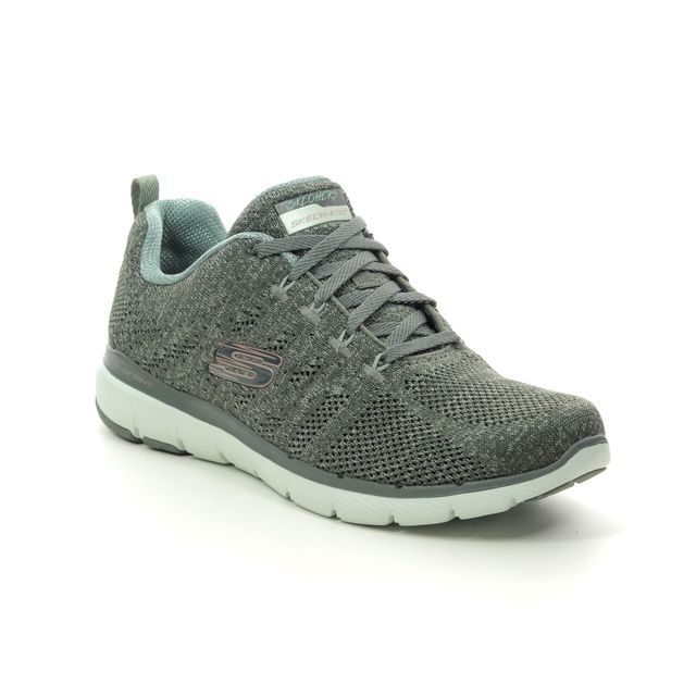Skechers Trainers - OLIVE  - 13077 HIGH TIDES FLE