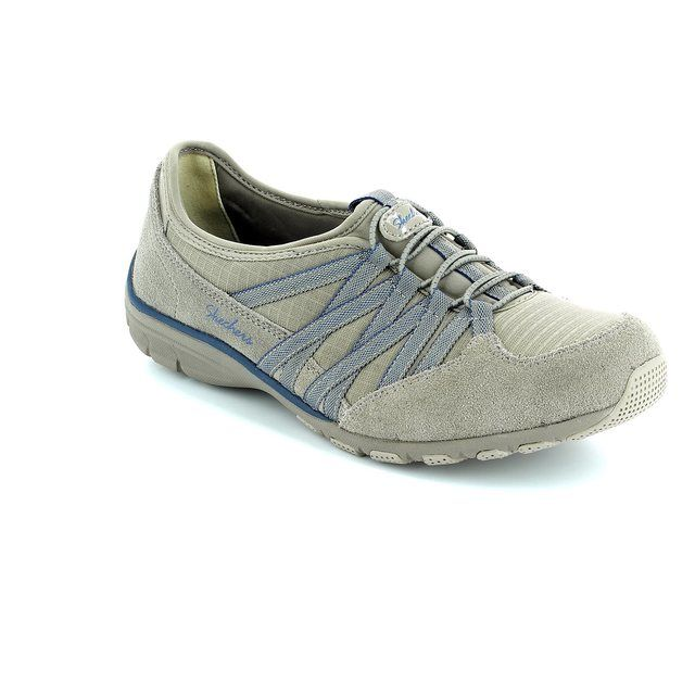 Skechers Holding Aces M 22551 STON Stone lacing shoes