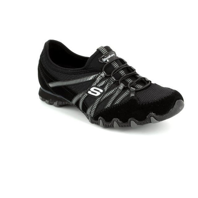 Skechers Lacing Shoes - Black grey multi - 21159 HOT TICKET BIKER