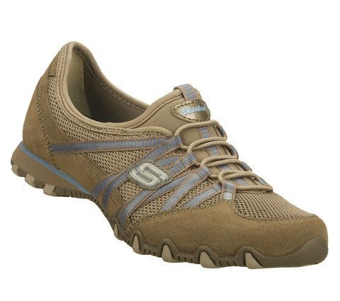 Skechers Hot Ticket Bik 21159 TPBL Taupe-Multi lacing shoes