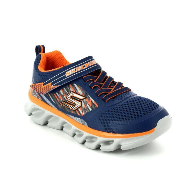 Skechers Everyday Shoes - Navy - 90581/756 HYPNO FLASH