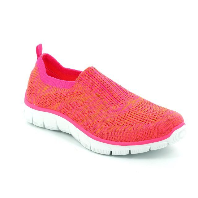 Skechers Inside Look 12419 ORHP Orange hot-pink trainers