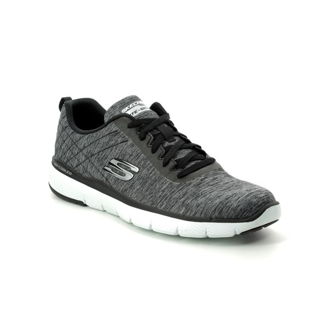 Skechers Trainers - Black-white - 52956 JECTION