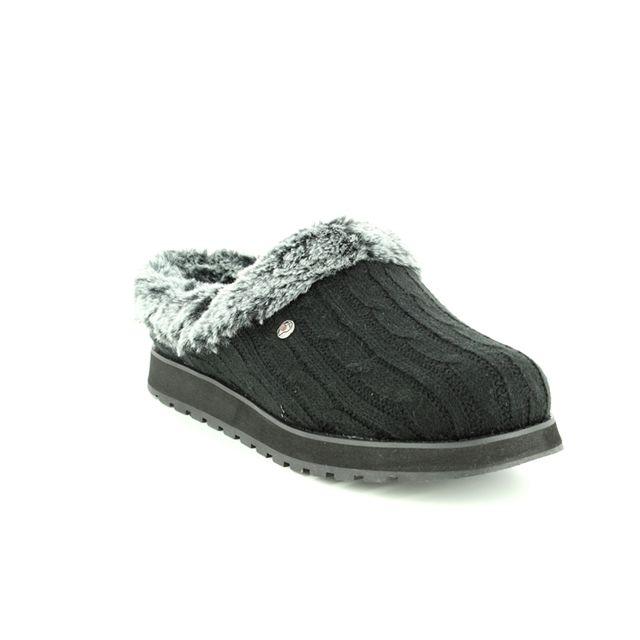 Skechers Slippers - Black - 31204 KEEPSAKES