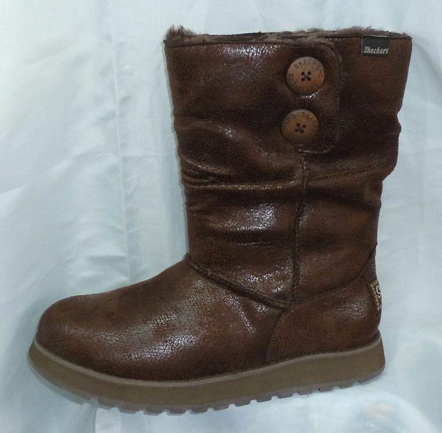 Skechers Keepsakes 48367 CHOC Chocolate brown long boots
