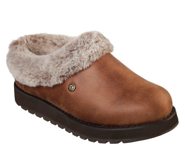 Skechers Slippers - Brown - 31214 KEEPSAKES REM