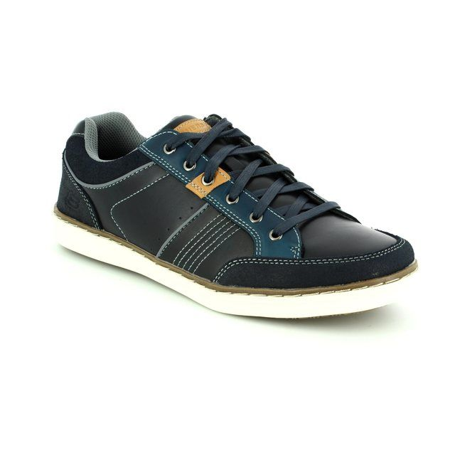 Skechers Fashion Shoes - Navy - 64919 LANSON ROMETO