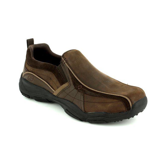 Skechers Casual Shoes - Dark brown - 64897 LARSON BERTO
