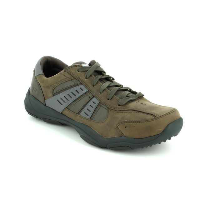 Skechers Casual Shoes - Charcoal - 64833 LARSON NERICK
